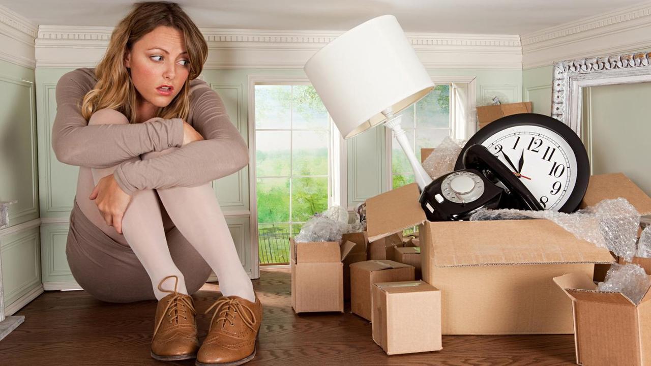 Выкинуть из дома все не нужные вещи