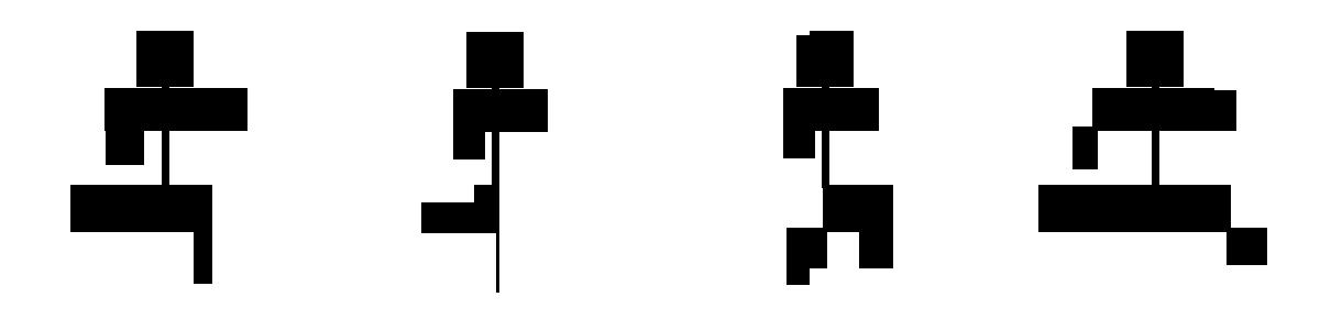 Пример анимации двумерного персонажа